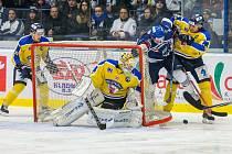 Čtvrtfinále hokejové WSM ligy mezi Kladnem a Slovanem pokračuje v pátek a sobotu na ústeckém ledě.