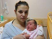 Viktorie Montoyaová se narodila v ústecké porodnici 14.12.2016 (13.25) Olze Montoyaové. Měřila 51 cm, vážila 3,86 kg.