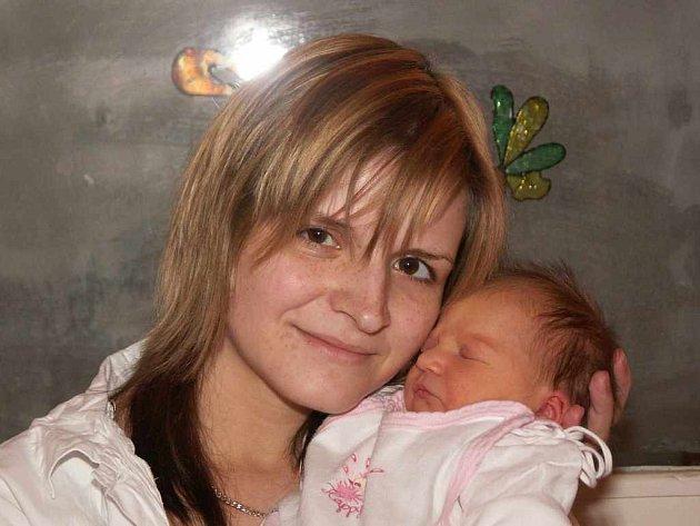 Jitka Douchová s dcerou Lilianou, 21.12.2007