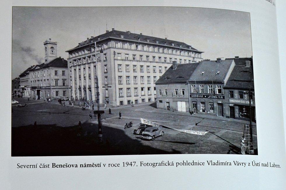 Po stopách starých pohlednic - střed města Ústí nad Labem včera a dnes.