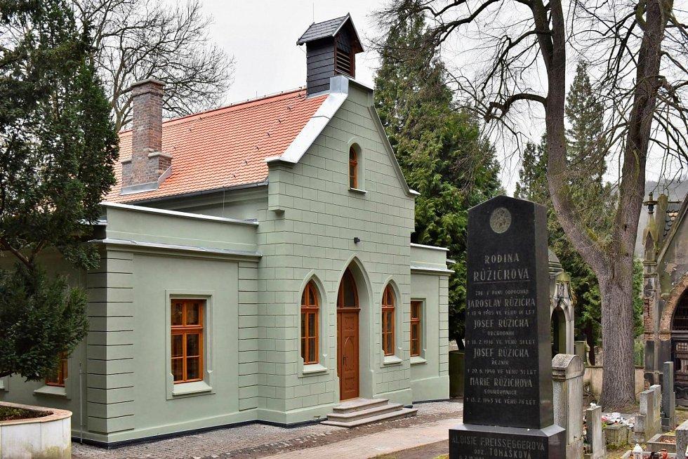 Kaple v Krásném Březně po rekonstrukci