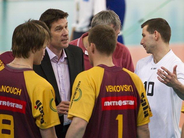 """Libero Václav Kopáček (vpravo) je ústřední postavou """"duklácké"""" party bývalého ústeckého kouče Michala Nekoly."""