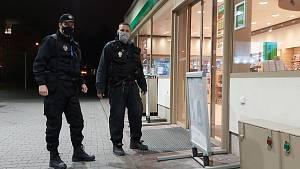 Kontroly ústeckých strážníků na čerpacích stanicích