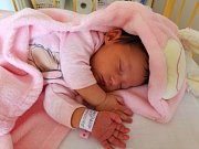 Emily Bretschneider se narodila v ústecké porodnici 2.9. (7.20) Veronice Bretschneider. Měřila 50 cm, vážila 3,65 kg.