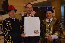 Forbína uvítala pětadvacetitisícího návštěvníka. Byl jím Petr Kapoun z Bukova.