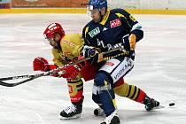 Ústečtí hokejisté prohráli s Hradcem po sam. nájezdech