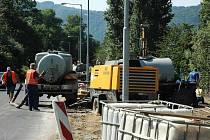 Stavba protipovodňových opatření na Střekovském nábřeží osiřela