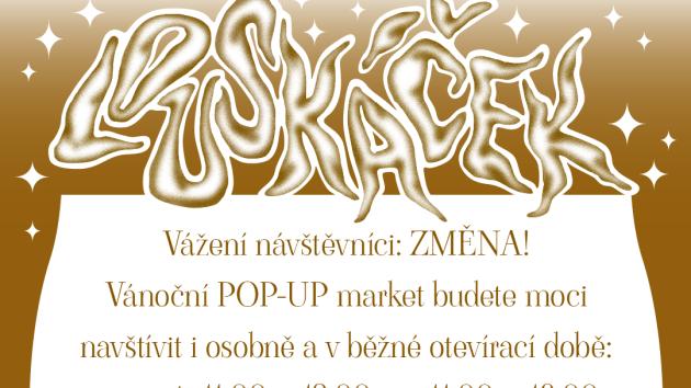 V Domě umění v Ústí nad Labem začal POP-UP market Louskáček.