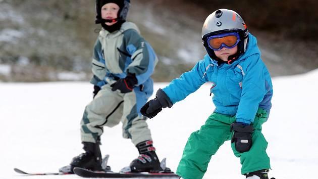 Telnice na Ústecku nabízí lyžařům ideální podmínky.