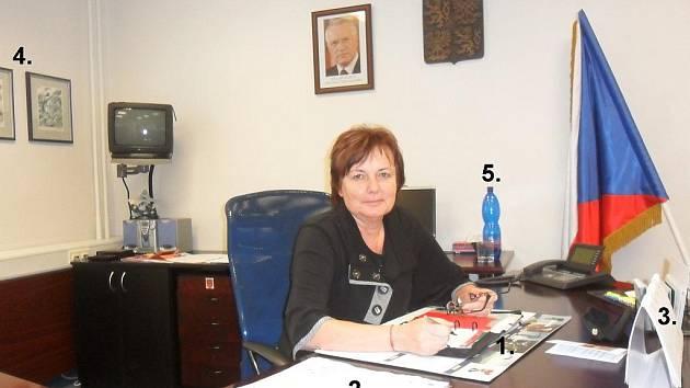 Bývalá starostka Neštěmic Miloslava Válková.
