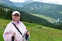 Své zelené sny si vyrazila do Janských Lázní splnit skupina pětapadesáti seniorů z Ústí nad Labem.
