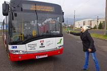 Pět nových trolejbusů Dopravního podniku města Ústí nad Labem pokřtily ústecké sportovní osobnosti.