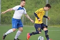 Fotbalisté Trmic (bílo-modří) zakončili sezonu v 1.B třídě na šesté pozici.
