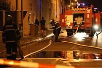 Ve Veslařské ulici explodoval plyn