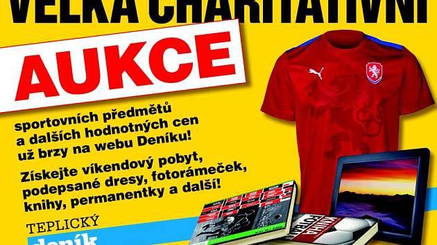 Velká charitativní aukce odstartuje na webu Deníku už 2. listopadu.