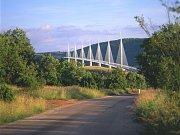 Viadukt Millau.