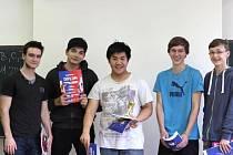 Turnaj vyhrál tým Mugiwara z Gymnázia Jateční.