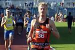 Výraznou oporou družstva AC Ústí nad Labem je mílař Ondřej Chour. V úvodním kole 1. ligy bodoval druhým místem v běhu na 800 m. (archivní snímek)