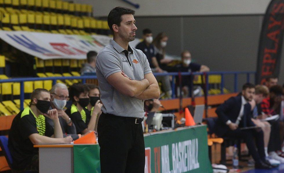 Trenér Slunety Ústí nad Labem Antonín Pištěcký