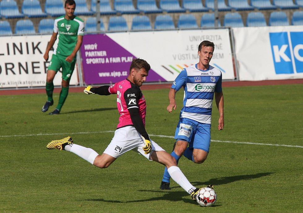 FK Ústí nad Labem - Vlašim, FNL 2019/2020