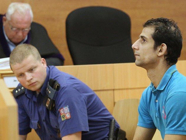 Juraje Zajace (vpravo) odsoudil ústecký krajský soud na 14let do věznice se zvýšenou ostrahou.