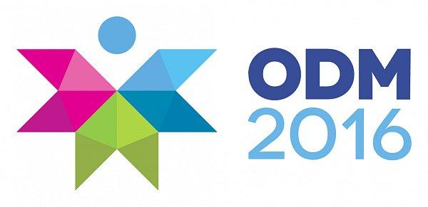 Logo Olympiády dětí a mládeže 2016.