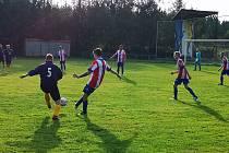 Malé derby mezi Tisou a Petrovicemi skončilo remízou 2:2. Po penaltách zvítězily Petrovice.