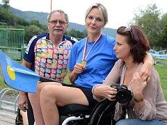 Jana Brambaski si plní svůj sen, letos přivezla z Račič zlatou medaili.