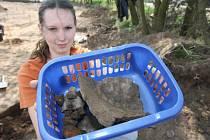 Archeologické nálezy na výstavbě dálnice D8.