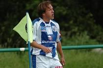 Záložník FK Ústí Michal Doležal.
