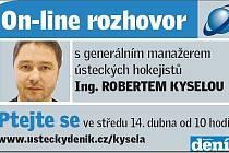 On-line s Robertem Kyselou