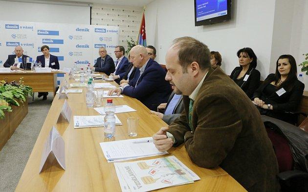 Setkání shejtmanem na téma vzdělávání a zaměstnanost vÚstí nad Labem