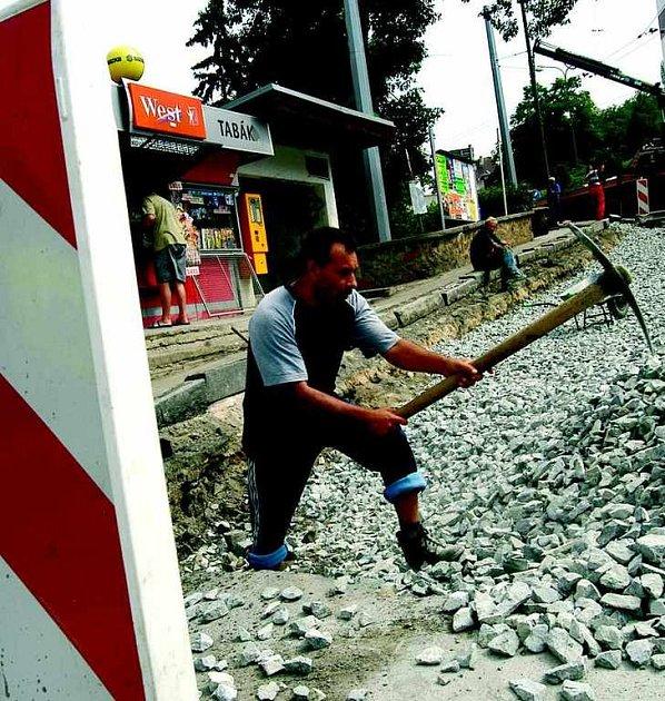 Oprava autobusové zastávky