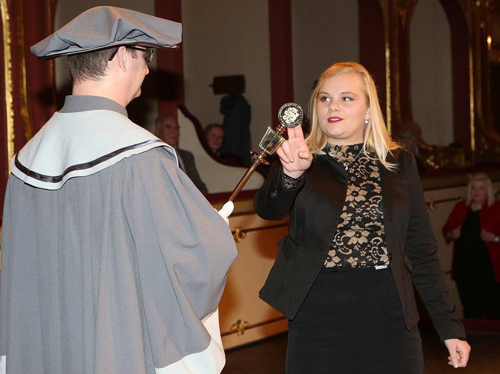 Promoce studentů Pedagogické fakulty Univerzity J. E. Purkyně v Ústí nad Labem.