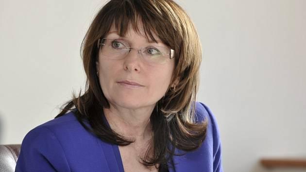 Ředitelka dotačního úřadu programu Severozápad Jana Havlicová.
