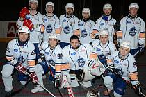 Hokejbalisté ústecké Elby DDM.