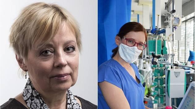 Markéta Svobodová a Hana Oliva.