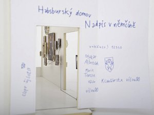 EXPOZICE O NĚMCÍCH. Pohled do vizualizace a na model připravované výstavy o českých Němcích v ústeckém muzeu, kterou připravuje Collegium Bohemicum. Výstavba přijde na 50 milionů korun. Foto: Collegium Bohemicum