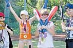 Druhý rok na FZŠ České mládeže v Ústí na Klíši pokračuje kroužek baseballu.