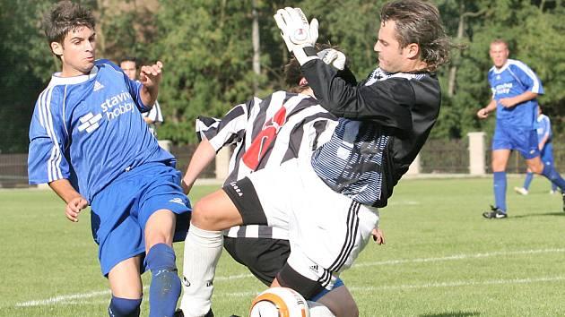 Fotbalové utkání Chuderov - Povrly