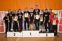 Karatisté Sport Unionu Ústí n. L. na NP 2019 v Praze.