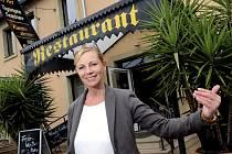 Manažerka německého hotelu Sylvia Richter.