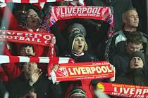 Fanoušci Liverpoolu.