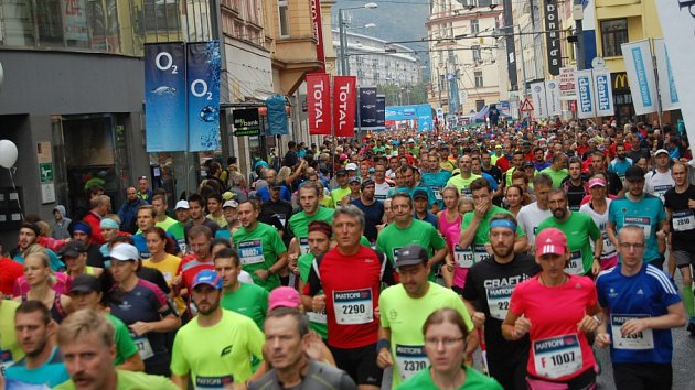 Půlmaraton v Ústí nad Labem