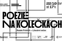 Poezie na kolečkách - s Radkem Fridrichem online