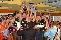Světového mistrovství se také zúčastnili žáci Taneční školy Gebert. V konkurenci šesti týmů obsadili junioři formace v Latino show první místo.