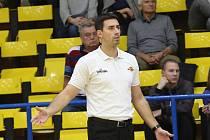 Antonín Pištěcký, trenér Slunety Ústí nad Labem.