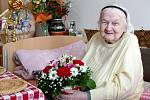 Ústečanka Marie Mašitová oslavila 100.