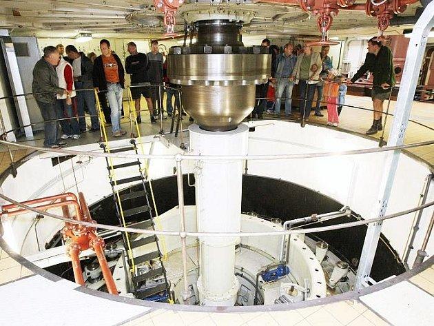 Vodní elektrárna na Střekově byla přístupna veřejnosti