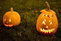 Ilustrační snímek. Halloweenská dýně